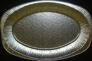 Picture of Foil Tray Oval Platter