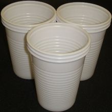 Picture of Plastic Cups White 20 pieces