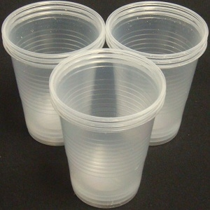 Picture of Plastic Cups Clear 20 pieces