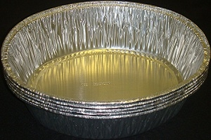 Picture of Foil Tray Oval Small