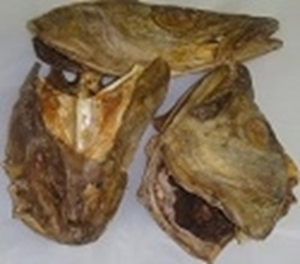 Picture of Cod Okporoko Stockfish Head (Gadus Morhua)