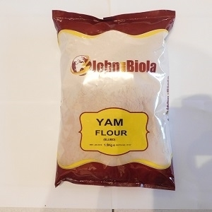 Picture of John & Biola (GRADE A) Yam Flour 20kg (PLAIN BAG)