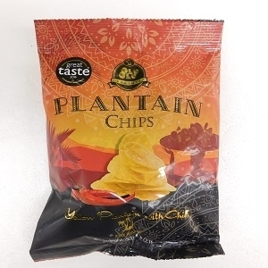 Picture of Box Olu Olu Plantain Chips 60g x 24 (Sweet Chilli)