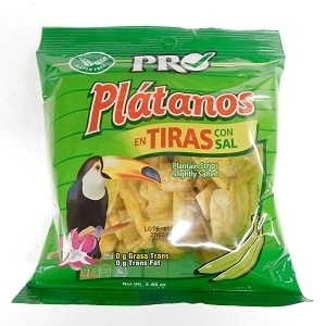 Picture of Box Plantanos Plantain Strips 75g x 20 (Slightly Salted)