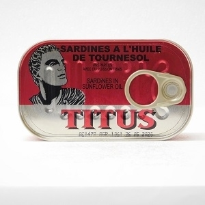 Picture of Titus Sardines In Sunflower Oil 125g
