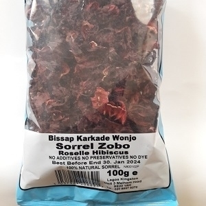 Picture of Sorrel (Zobo) - Roselle Hibiscus 100g x 30 (Box)