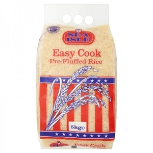 Picture of Sea Isle Easy Cook Pre-Fluffed Rice 5kg