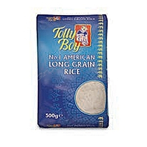 Picture of Tolly Boy American Long Grain Rice 500g