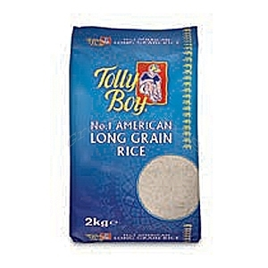 Picture of Tolly Boy American Long Grain Rice 2kg