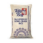 Picture of Tolly Boy American Long Grain Rice 40kg – Hessian Bag