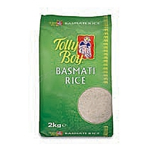 Picture of Tolly Boy Basmati Rice 2kg