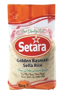 Picture of Setara Golden Sella Basmati Rice 5kg