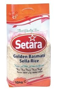 Picture of Setara Golden Sella Basmati Rice 10kg