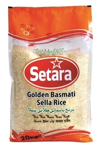 Picture of Setara Golden Sella Basmati Rice 20kg