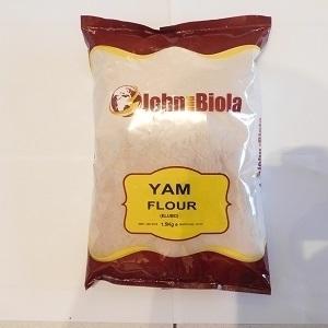 Picture of John & Biola (GRADE A) Yam Flour 4kg x 10 (Box)