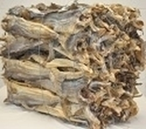 Picture of Cod  Stockfish Okporoko Large-XLarge  50/70cm (Gadus Morhua) - WHOLESALE BAG 45KG