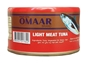 Picture of Omaar Light Meat Tuna in Soybean Oil 185g