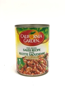 Picture of California Garden Fava Bean Saudi Recipe 400g