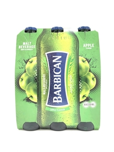Picture of Barbiacan Apple Flavoured Malt 6 x 330ml