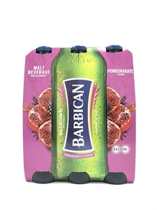 Picture of Barbiacan Pomegranate Flavoured Malt 6 x 330ml