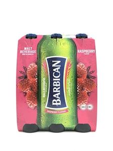 Picture of Barbiacan Raspberry Flavoured Malt 6 x 330ml